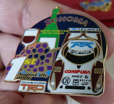 Pin's Course Usa Lexus Grand American Rolex Series Trd 2006 Sonoma Egf Mfs