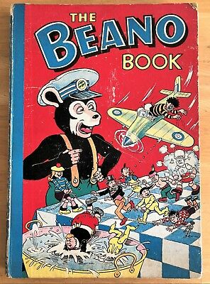 THE BEANO BOOK 1956 Inscribed Minimal wear VG