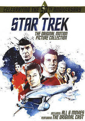 Star Trek The Original Motion Picture Collection DVD