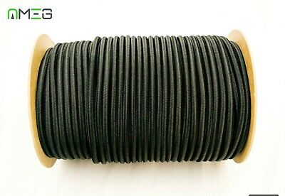 Elastic-Shock-Cord Tie Down-Bungee-Rope-Black EXTRA STRONG High Quality
