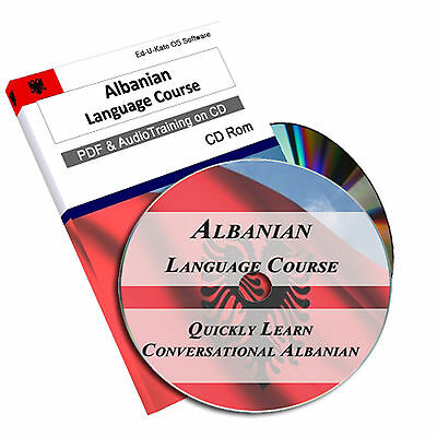 Albanian Language Course on CD - 45 Hrs Audio MP3 + PDF Books Learn to Speak 170