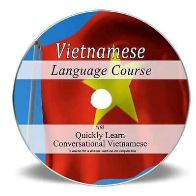 VIETNAMESE LANGUAGE COURSE Learn Speak Home Learning Study Audio MP3 Book CD 163
