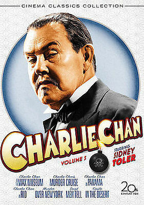 Charlie Chan Collection, Vol. 5 (Charlie DVD