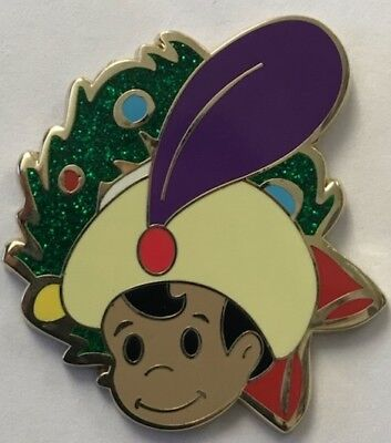 Disney Parks It's a Small World Holiday ALADDIN Prince Ali Mystery Pin LE 700