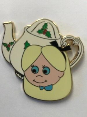 Disneyl Parks It's a Small World Holiday Alice in Wonderland Mystery Pin LE 500