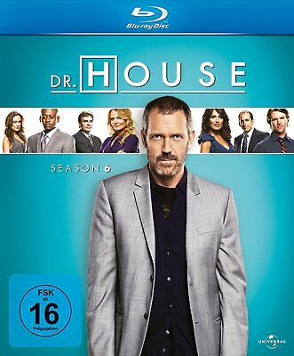 Dr. House - Staffel / Season 6 | Blu-ray NEU OVP