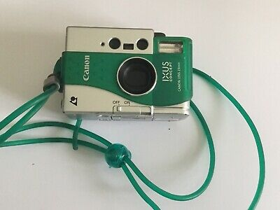 Collectible Green Canon Ixus Concept APS  Film Camera