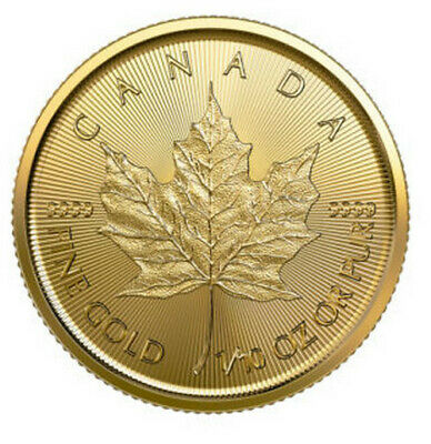 Canada 1/10 oz Gold Maple Leaf