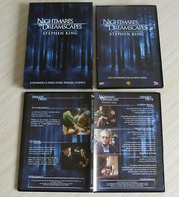 Coffret 3 Dvd Pal Nightmares & Dreamscapes 8 Episodes Stephen King Zone 2