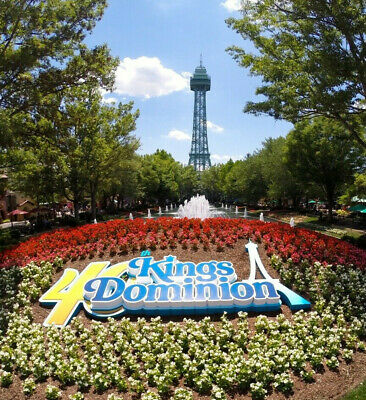 Kings Dominion Tickets $37  A Promo Discount Tool