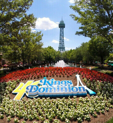 Kings Dominion Tickets $45  A Promo Discount Tool