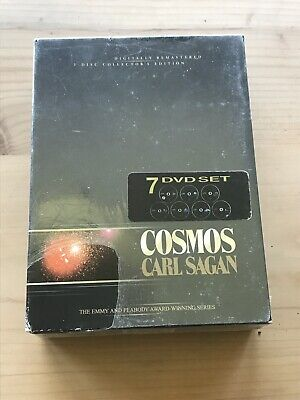 Cosmos Carl Sagan The Complete Collection (DVD, 2002, 7-Disc Set) new sealed