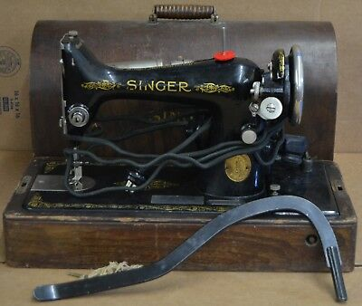 1921 Singer 49K Sewing Machine SERIAL Number Y1608877
