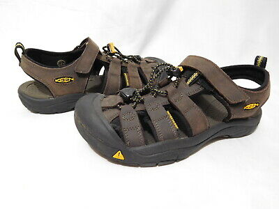 502c3c1ef7b2 KEEN Newport Big Kids Women s 5 37 Brown Leather Water Closed Toe Sport  Sandals