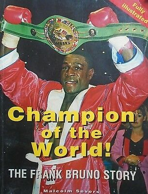 Champion Of The World - The Frank Bruno Story - Boxing Free P&P To Uk