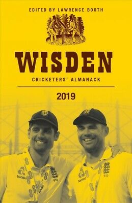 Wisden Cricketers' Almanack 2019, Hardcover by Booth, Lawrence (EDT), Brand N...