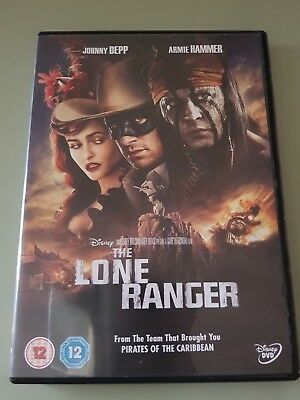 Disney The Lone Ranger DVD (Johnny Depp)