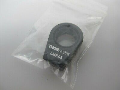 "ThorLabs LMR05 Lens Mount with Retaining Ring for Ø1/2"" Optics, 8-32 Tap"