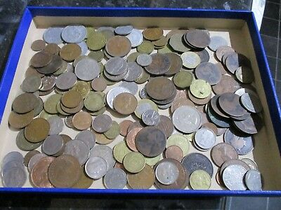 1kg of GB, COMMONWEALTH AND FOREIGN  COINS - BULK COLLECTION  (LOT2)