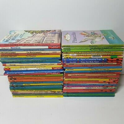 D24 Ladybird books, 50+ vintage Well loved tales, Reading Childrens Books Bundle
