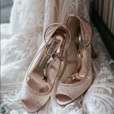 coupon code competitive price los angeles BADGLEY MISCHKA WEYLIN Blush heels size 8.5 new in box ...