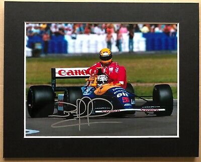 Nigel Mansell - Formula One World Champion - F1 - Signed Photo - Mounted