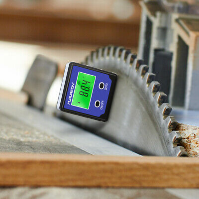 Precise LCD Digital Box Gauge Angle Protractor Level Inclinometer Magnetic Base