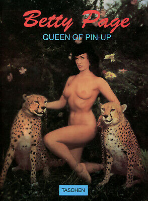 Betty Page Queen Of Pin-Up 1994 by Tashen Soft Cover Magazine in 3 Languages
