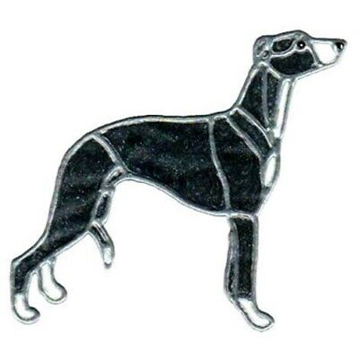 """8"""" WHIPPET solid blk rf"""