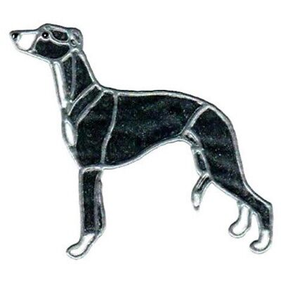 """8"""" WHIPPET solid blk lf"""