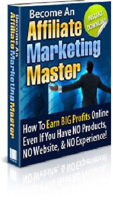 Ebook Affiliate Marketing Master + Master Resell Rights+10 Free Ebooks
