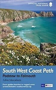 South West Coast Path : Padstow to Falmouth; National Trail Guide, Paperback ...