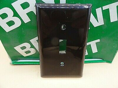 QTY 1 BRYANT 1 GANG SWITCH COVER RECEPTACLE WALL PLATE RED 88061-RED