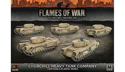 Flames of War: Churchill Heavy Tank Company