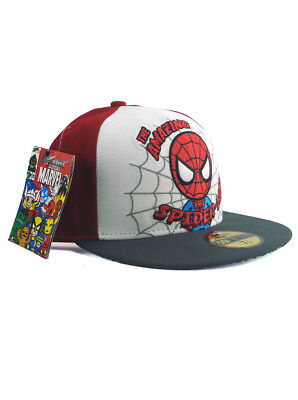 sports shoes 896b0 a5665 New Era Tokidoki Spider-Man 59fifty Custom Fitted Hat 7 3 8 Simone Legno