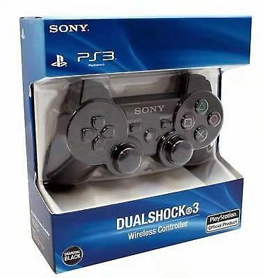 Sony Dualshock 3 Controller Gamepad Wireless Joystick For PS3 -charcoal Black