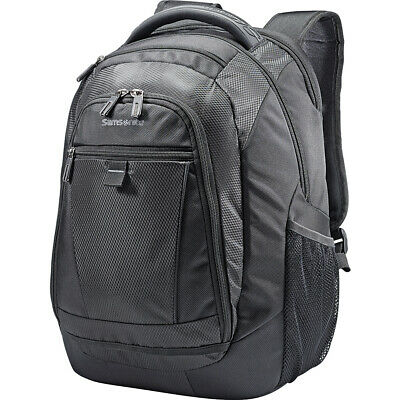 Samsonite Tectonic 2 Medium Backpack - Black Business & Laptop Backpack NEW