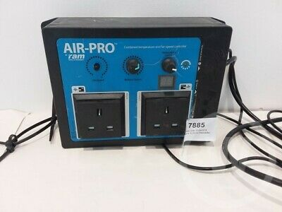 ram air pro combined temperature and fan speed controller