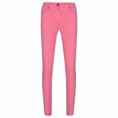 Kids Girls Skinny Jeans Pink Stretchy Denim Jeggings Fit Pants Trousers 5-13 Yr