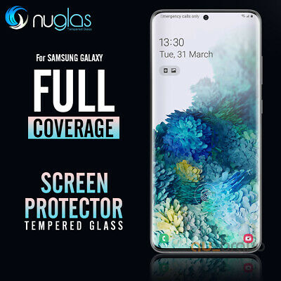 NUGLAS 3D Tempered Glass Screen Protector Samsung Galaxy S10e S10 5G S10 Plus