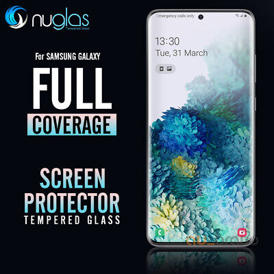 Samsung Galaxy S10 5G S10 Plus S10e NUGLAS 3D Tempered Glass Screen Protector