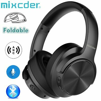 Mixcder Wireless Bluetooth Stereo Over-Ear Headphones Noise Cancelling Headsets