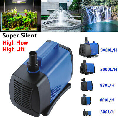 Submersible Water Pump Fish Tank Aquarium Pond Fountain Spout Feature Pump 220V