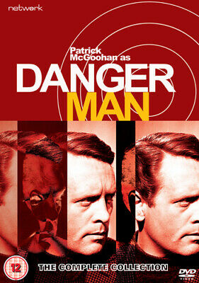 Danger Man: The Complete Collection DVD (2019) Patrick McGoohan ***NEW***