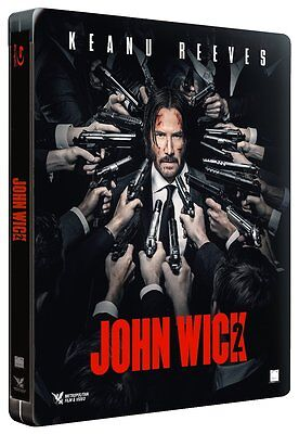 John Wick 2  Blu Ray Steelbook Edition Fnac Exclusive Neuf Sous Cello