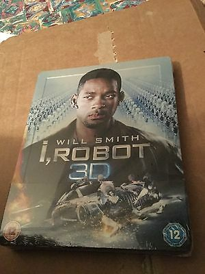 I ROBOT 3D blu-ray Steelbook EPUISE NEUF sous cello Import