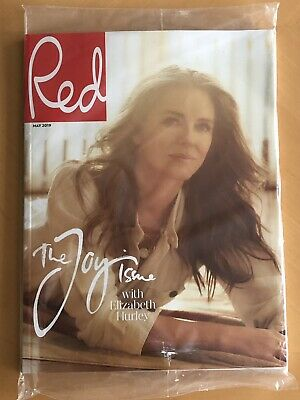 Red UK Magazine May 2019 Elizabeth Hurley Limited Edition Subscribers Cover NEW
