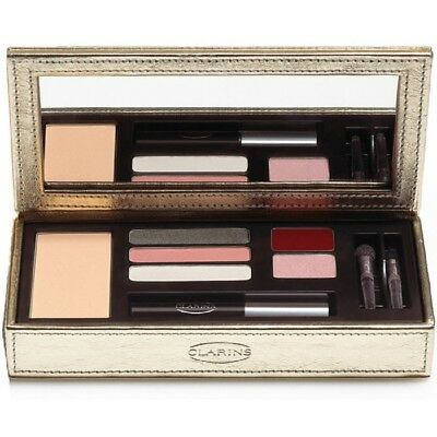 New! Clarins Ultimate Gold Attraction Compact Make-Up-Pallette Boxed Worth £65!