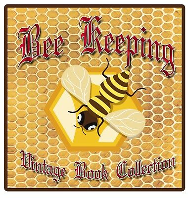 470 Old Bee Keeping Books on DVD - Apiculture Queen Bees Hive Honey Wax Swarm E9