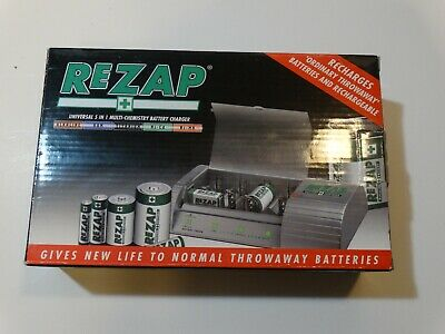 ReZap Battery 5 in 1 Multi-chemistry Battery Charger
